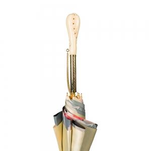 Зонт-Трость Pasotti Crema Magnolia Tress фото-3