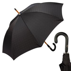 Зонт-трость Pasotti Di Legno Strong Black фото-1