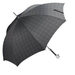 Зонт-Трость Pasotti Fido Silver Milford Grey фото-3