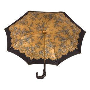 Зонт-трость Pasotti Giallo Dentell Pelle фото-5