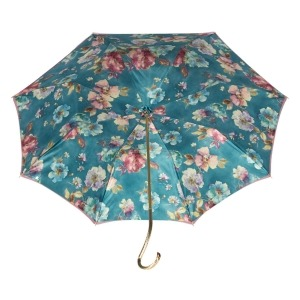Зонт-трость Pasotti Giante Tella Biruza Oro фото-4