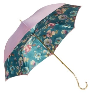 Зонт-трость Pasotti Giante Tella Biruza Oro фото-5