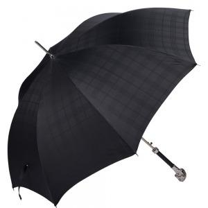 Зонт-трость Pasotti Horse Silver Cell Black фото-4