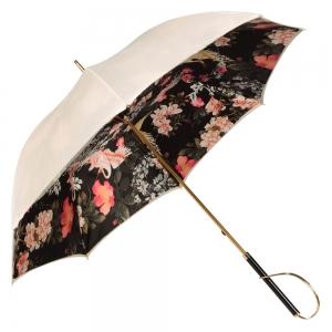 Зонт-Трость  Pasotti Ivory Crane Nero Rapira фото-3