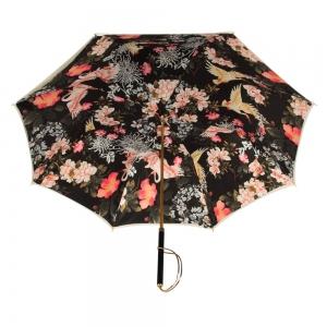 Зонт-Трость  Pasotti Ivory Crane Nero Rapira фото-4