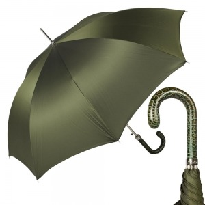 Зонт-Трость Pasotti Lazer Oxford Oliva фото-1