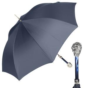 Зонт-трость Pasotti Leone Silver StripesS Dark blu фото-1