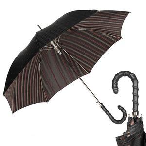 Зонт-трость Pasotti Helix Cetrio Black фото-1