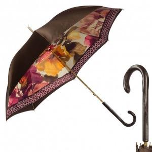 Зонт-трость Pasotti Marrone Meleti Original фото-1