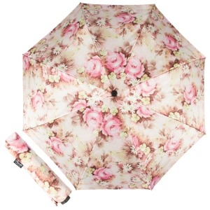 Зонт складной Pasotti Mini Daizy Rosa фото-1