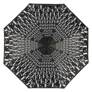Зонт складной Ferre 6014-OC Ray Black фото-3