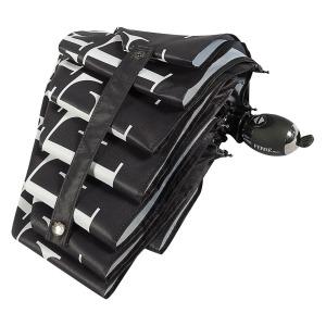 Зонт складной Ferre 6014-OC Ray Black фото-4