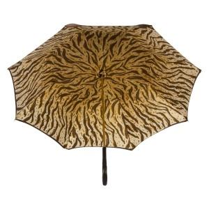 Зонт-трость Pasotti Marrone Leo Pure Original фото-3