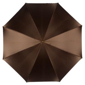 Зонт-трость Pasotti Marrone Leo Pure Original фото-2