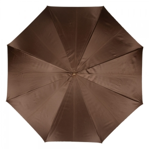 Зонт-трость Pasotti Marrone Leo Quatro фото-2