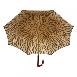 Зонт-трость Pasotti Marrone Leo Quatro фото-4