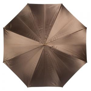 Зонт-трость Pasotti Marrone Leo Stone фото-2
