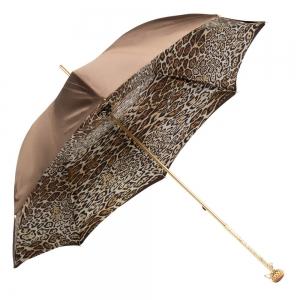 Зонт-трость Pasotti Marrone Leo Stone фото-5