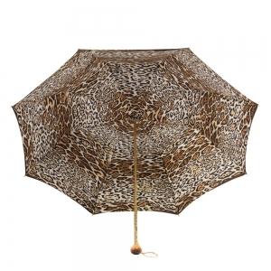 Зонт-трость Pasotti Marrone Leo Stone фото-3