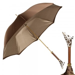 Зонт-трость Pasotti Marrone Pepita Giraff фото-1