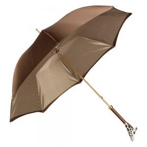 Зонт-трость Pasotti Marrone Pepita Giraff фото-5