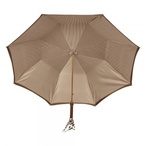 Зонт-трость Pasotti Marrone Pepita Giraff фото-4