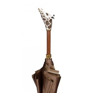 Зонт-трость Pasotti Marrone Pepita Giraff фото-3