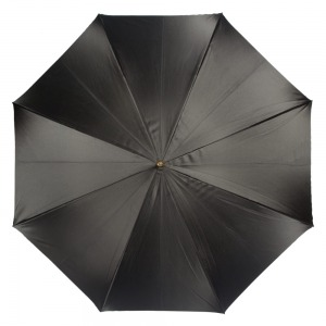 Зонт-трость Pasotti Nero Square Classic Pelle фото-2