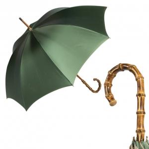 Зонт-Трость Pasotti Oliva Leoparde Bamboo фото-1