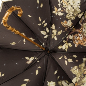 Зонт-Трость Pasotti Oliva Leoparde Bamboo фото-5