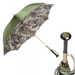 Зонт-трость Pasotti Oliva Tavo Diritto Pelle фото-1