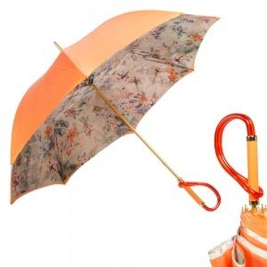 Зонт-трость Pasotti Orange Flora Plastica фото-1