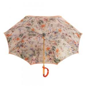 Зонт-трость Pasotti Orange Flora Plastica фото-3