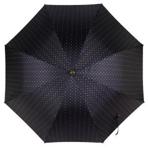 Зонт-трость Pasotti Pelle/Legno Dots Blu фото-2