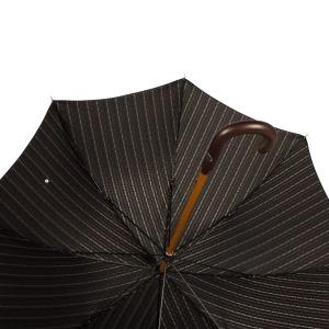 Зонт-трость Pasotti Pelle/Legno Dots Blu фото-3