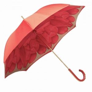 Зонт-трость Pasotti Rosso Koral Plastica фото-5