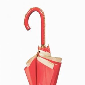 Зонт-трость Pasotti Rosso Koral Plastica фото-4