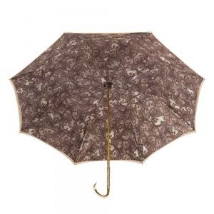Зонт-трость Pasotti Sand Paisley Oro Dentell фото-3