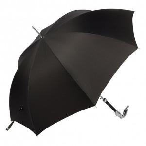 Зонт-трость Pasotti Sempia Silver Niagara Black фото-2