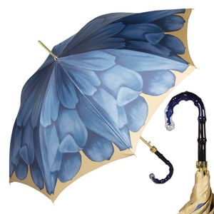 Зонт-трость Pasotti Uno Georgin Blu Boo фото-1