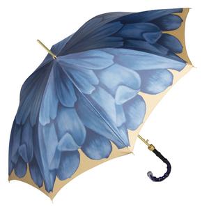 Зонт-трость Pasotti Uno Georgin Blu Boo фото-4