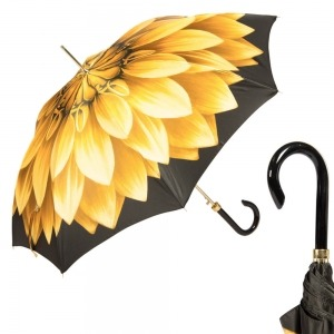 Зонт-трость Pasotti Uno Georgin Giallo фото-1