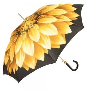 Зонт-трость Pasotti Uno Georgin Giallo фото-3