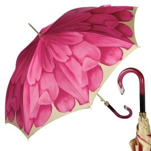 Зонт-трость Pasotti Uno Georgin Rosa фото-1