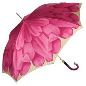 Зонт-трость Pasotti Uno Georgin Rosa фото-3