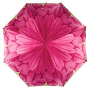 Зонт-трость Pasotti Uno Georgin Rosa фото-2