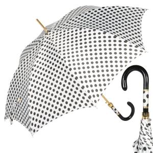 Зонт-трость Pasotti Uno Pois Bianco Panno фото-1