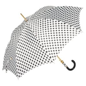 Зонт-трость Pasotti Uno Pois Bianco Panno фото-3