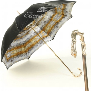 Зонт-трость Pasotti Snake Oro фото-1