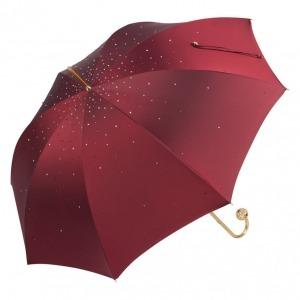 Зонт-трость Pasotti Swarovski Bordo  фото-1